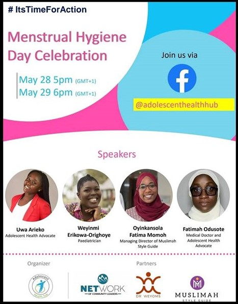 Adolescent Hub's Event for Menstrual Hygiene Day